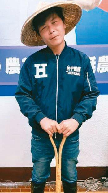 「最強菜農」林佳新。圖/報系資料照