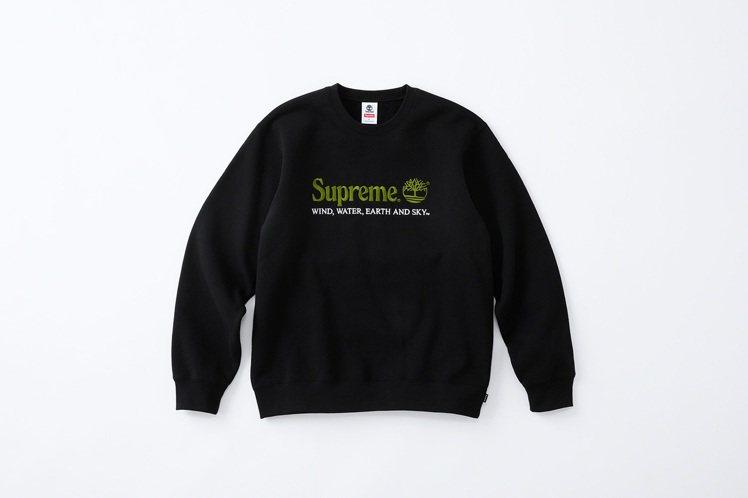 Supreme再度與Timberland合作,將推出聯名刺繡上衣。圖/摘自Sup...