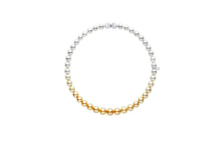 MIKIMOTO南洋珍珠漸層串鍊,約97萬元。圖/MIKIMOTO提供