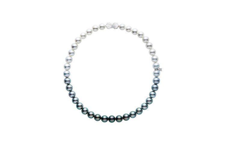 MIKIMOTO南洋珍珠漸層串鍊,約90萬元。圖/MIKIMOTO提供