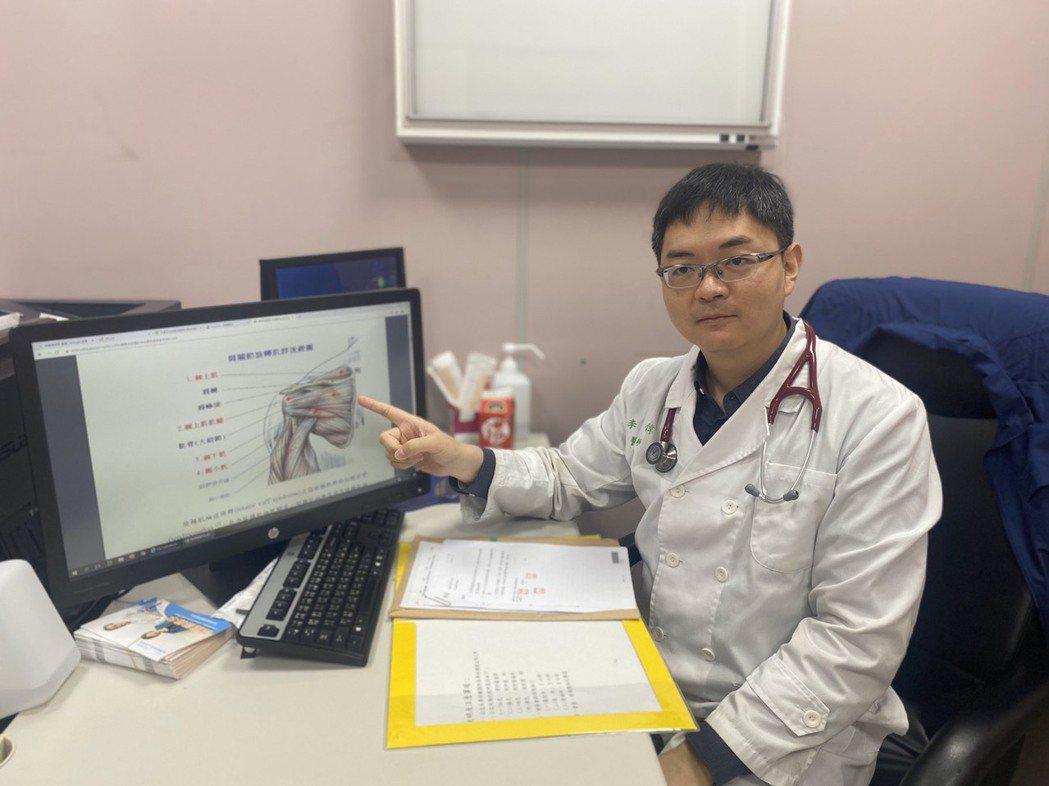 台大醫院雲林分院環境暨職業醫學科醫師李念偉。記者李京昇/攝影