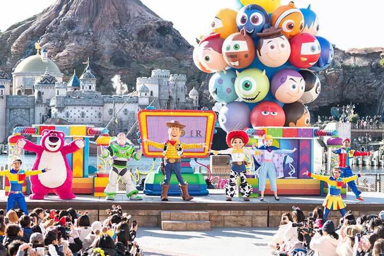 皮克斯遊戲時間。圖/取自東京迪士尼度假區官網