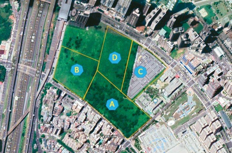 新北市政府推動面積達10公頃的林口媒體園區BOT招商案,上周確定全數標出。 圖/經發局提供