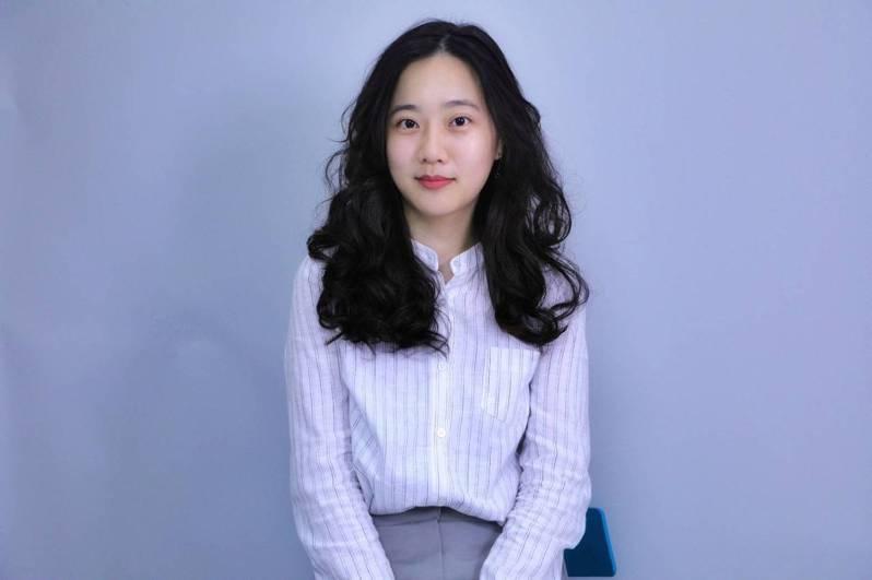 國民黨新任發言人洪于茜。圖/國民黨文傳會提供