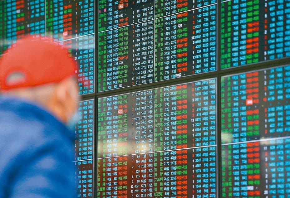 台股在連兩天大漲之後,短期能否延續漲勢有待觀察。 聯合報系資料照