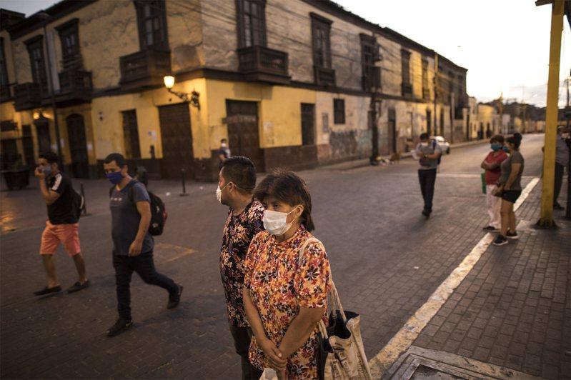 南美洲秘魯15日宣布緊急狀態,觀光客無法回家。圖為秘魯街景。美聯社
