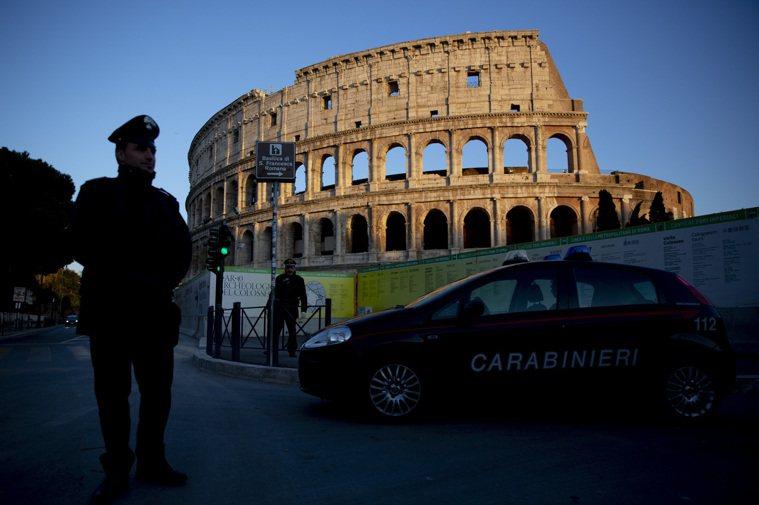 中國官媒央視、環球時報近日大力推播「義大利是疫情發源地」的論點。圖/美聯社