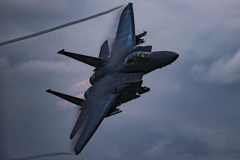 美空軍F-15E戰機。 圖/取自美國空軍 Flickr