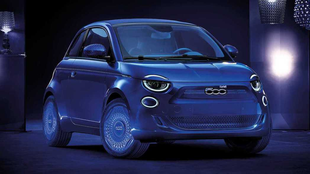 Fiat 500 Kartell。 摘自Fiat