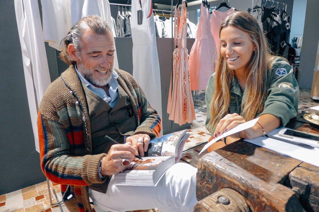 義大利男人跟女人一樣愛美,同樣時髦講究,甚至有過之不及。 圖/許育華拍攝
