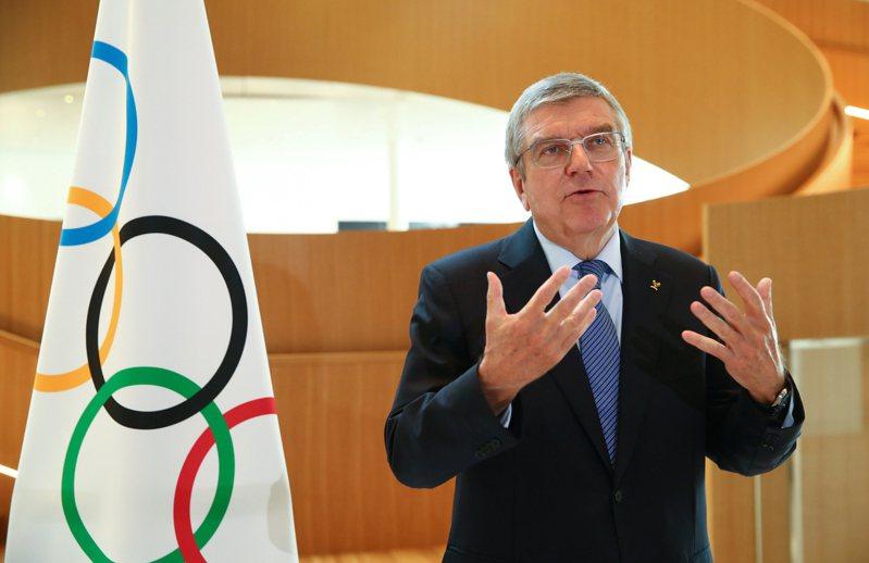 IOC主席巴赫。 美聯社