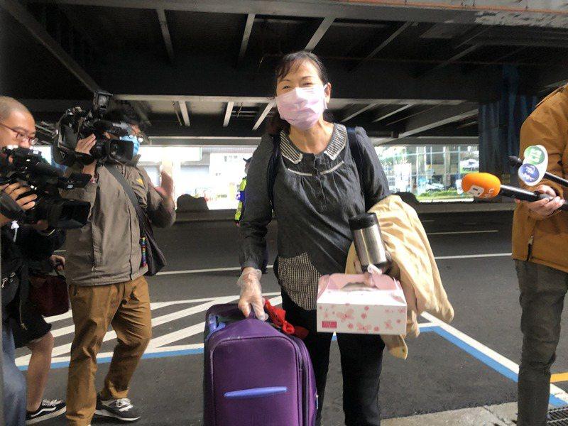 江婦讚台灣醫療做的很好。記者曾健祐/攝影