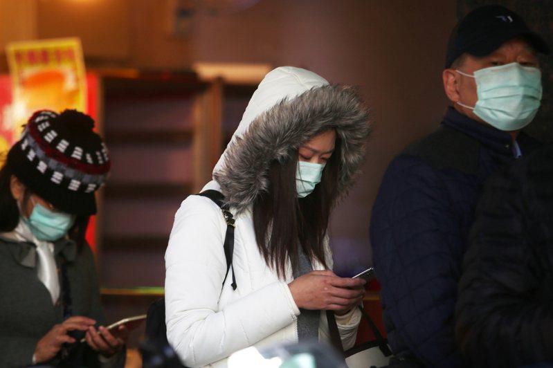 台灣防疫單位最近鬆口承認,新冠病毒的確有空氣傳染可能。圖/聯合報系資料照片