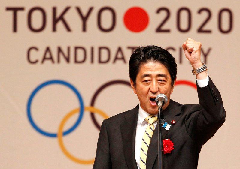 日本首相安倍。路透