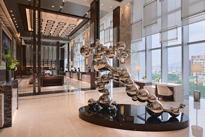 六福推客房化身「辦公室」。圖/六福旅遊集團提供
