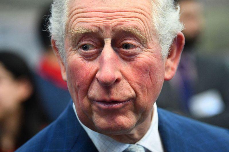 英國王儲查理。法新社