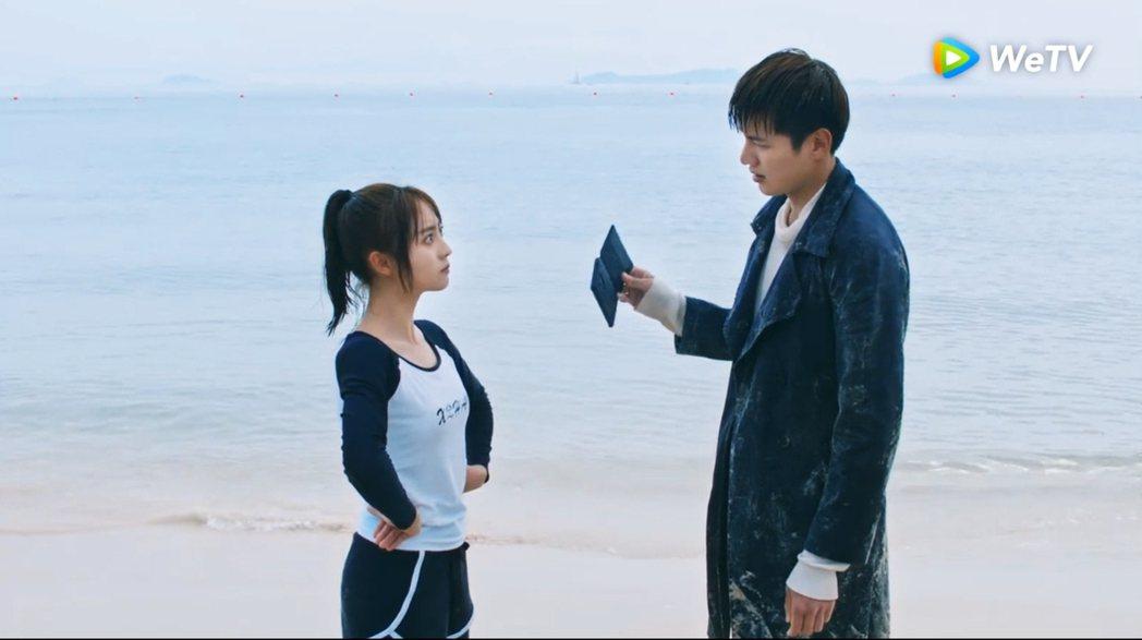 邢菲(左)、金澤主演「忘記你,記得愛情」。圖/WeTV提供