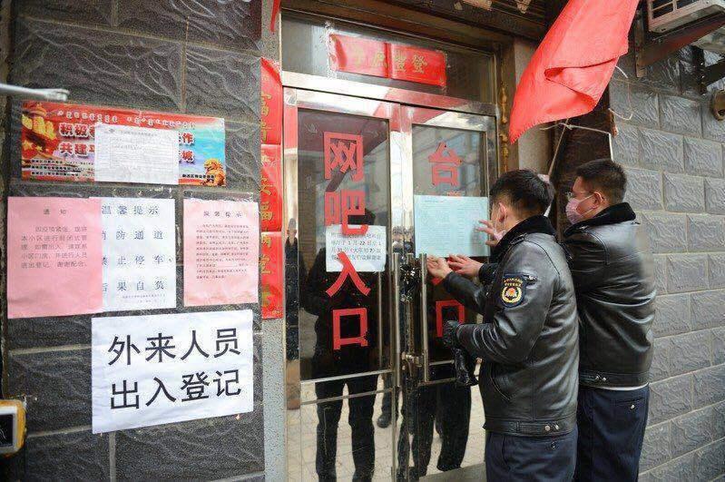 新冠肺炎在湖北武漢爆發後,武漢曾於1月23日「封城」。 圖/取自中國新聞社