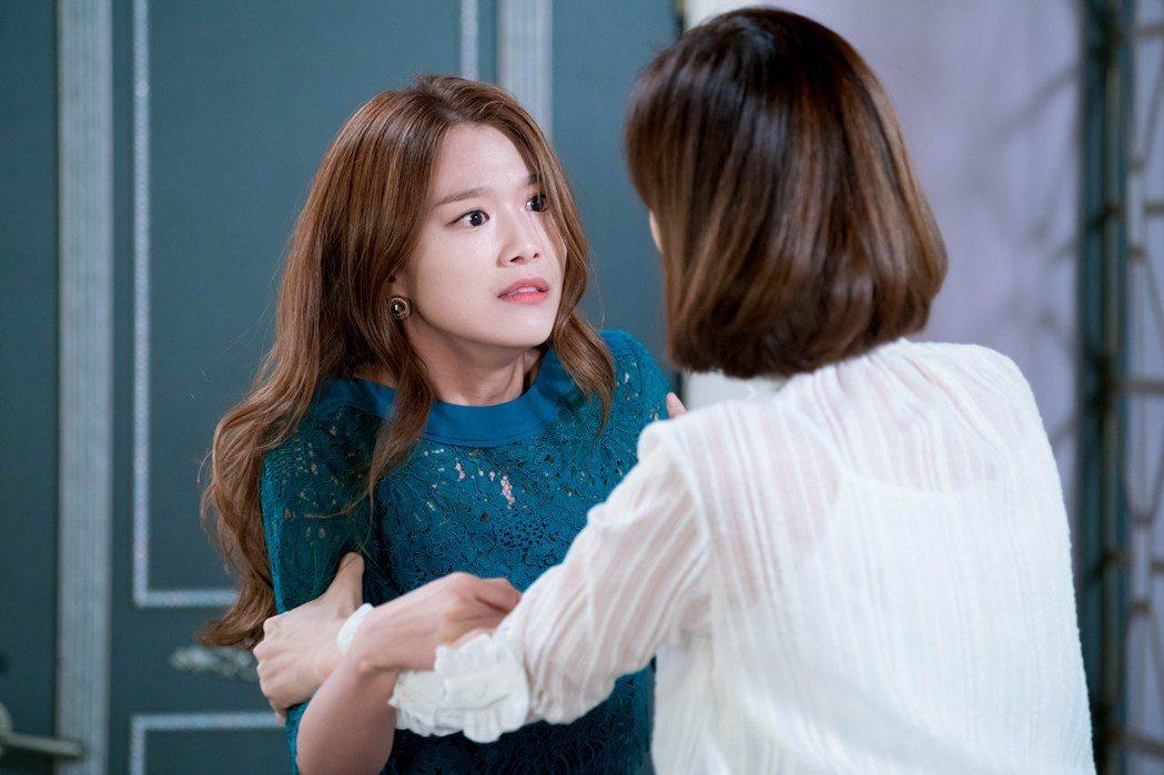 李姝雨在「逆流而上的愛情」戲中飾演富二代的小三。圖/緯來戲劇台提供