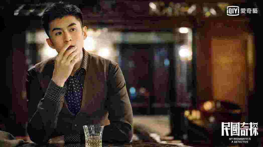 張雲龍演出「民國奇探」。圖/愛奇藝台灣站提供