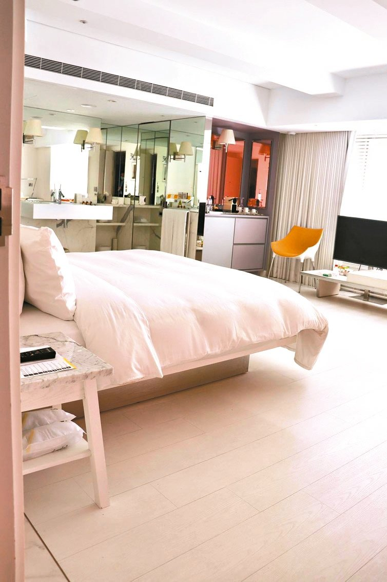 藝人大S老公汪小菲打造的S Hotel,將成防疫旅館。 圖/觀傳局提供