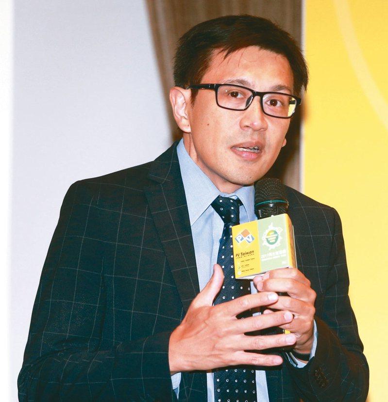 SEMI全球行銷長暨台灣區總裁曹世綸。圖/聯合報系資料照片
