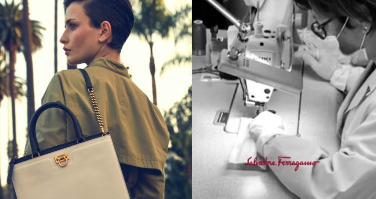 Salvatore Ferragamo正式宣布投入口罩、乾洗手等產品製作,希望能和當地醫療機構一起攜手陪伴國民度過難關。圖/Salvatore Ferragamo提供