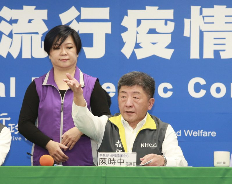 中央流行疫情指揮中心指揮官陳時中。 聯合報系資料照片/記者黃義書攝影