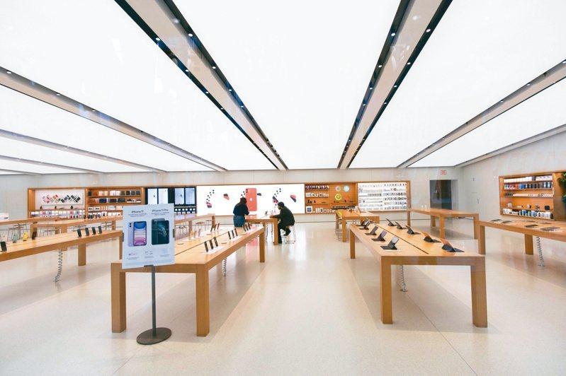 蘋果希望4月上半月陸續恢復開放直營門市。 美聯社
