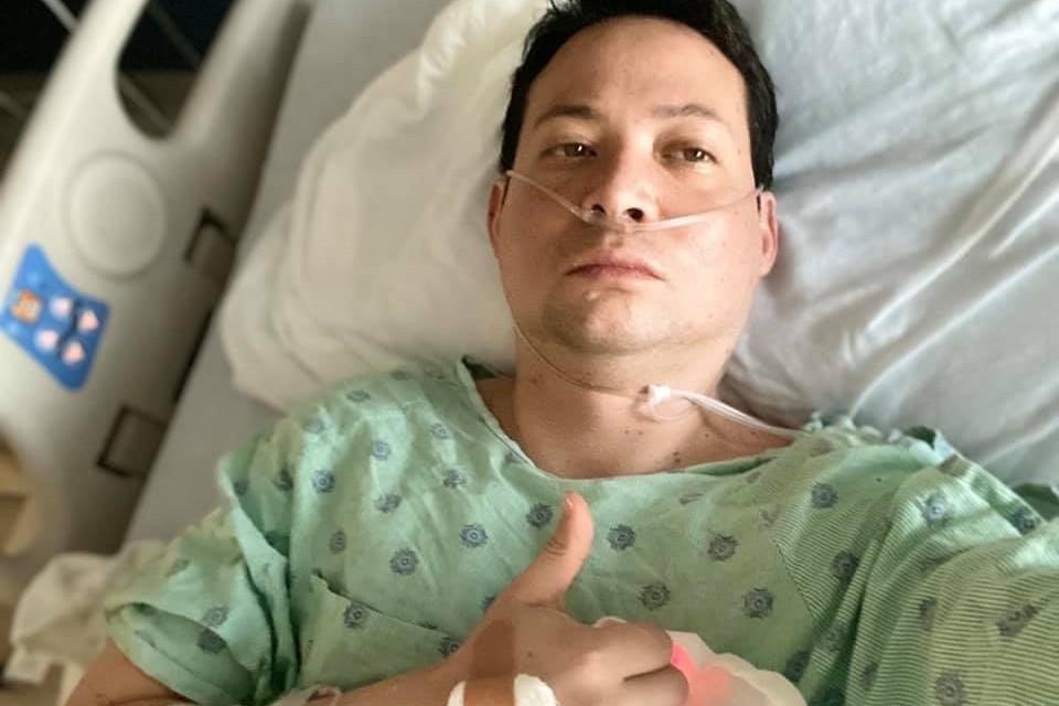 擦身而過就中鏢!42歲患者談新冠肺炎:一度感覺快死