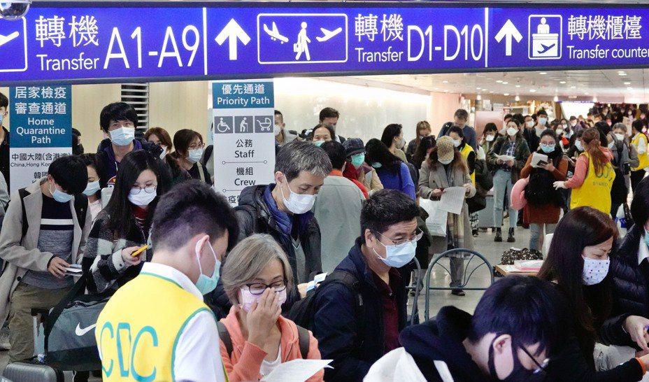 德國之聲中文網24日在網路發表「台北隔離14天,機場漏洞處處」的文章,桃園國際機場公司今(26日)表示,這是對台灣防疫政策不甚瞭解而有所誤解。 聯合報系資料照/記者鄭超文攝影