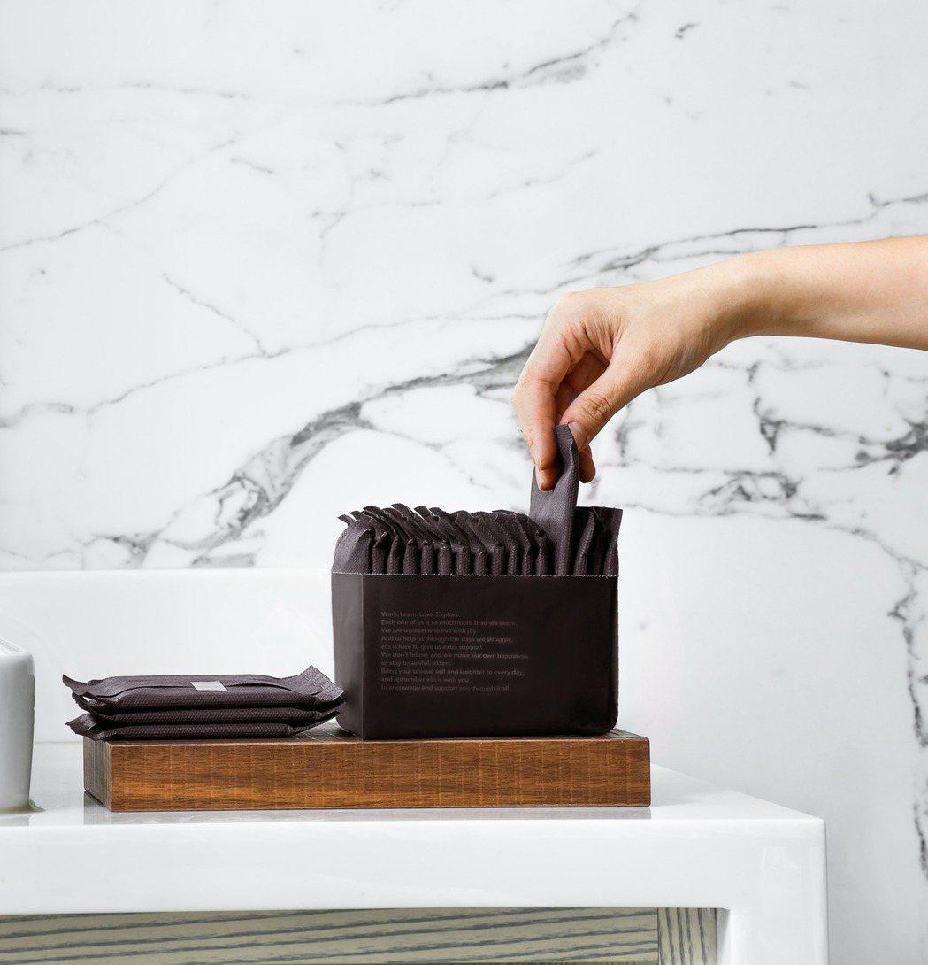 elis愛麗思清爽零感-簡約時尚衛生棉系列全新包裝,不再有一眼被透視的尷尬,引領...
