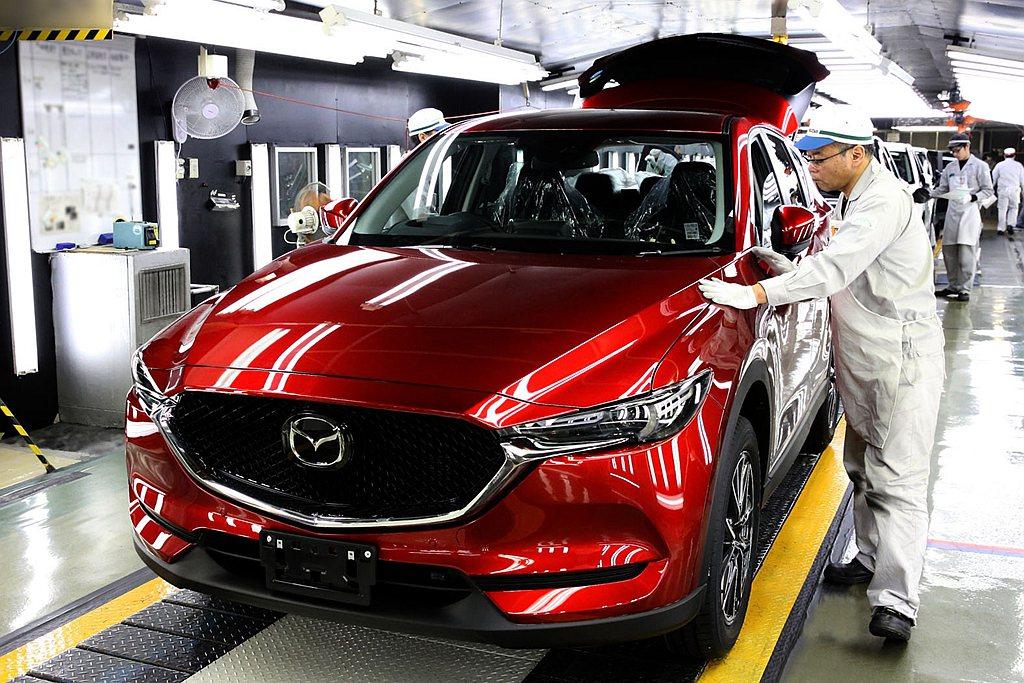 日本Mazda汽車不僅暫停全球新車產線,並透露其他訊息。 圖/Mazda提供
