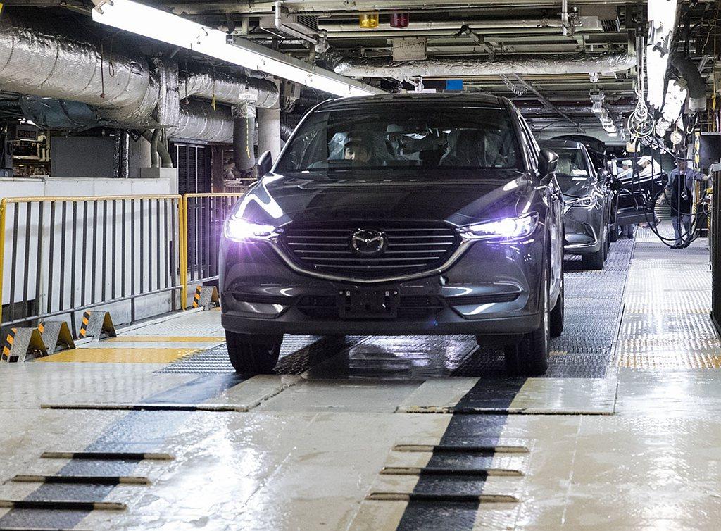 Mazda汽車宣布廣島總部以及山口縣防府市的新車產線,自3月28日到4月30日之...