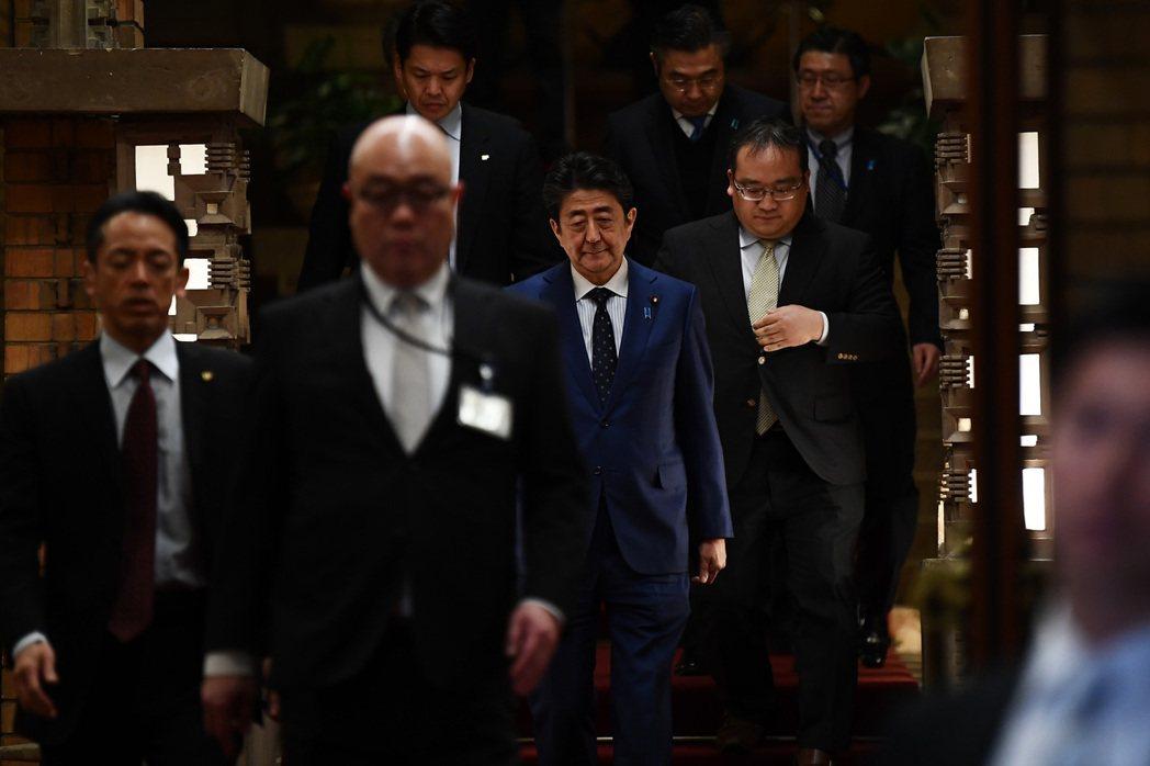 3月24日,日本首相安倍晉三表示IOC已同意東京奧運延期一年的提議。 圖/美聯社