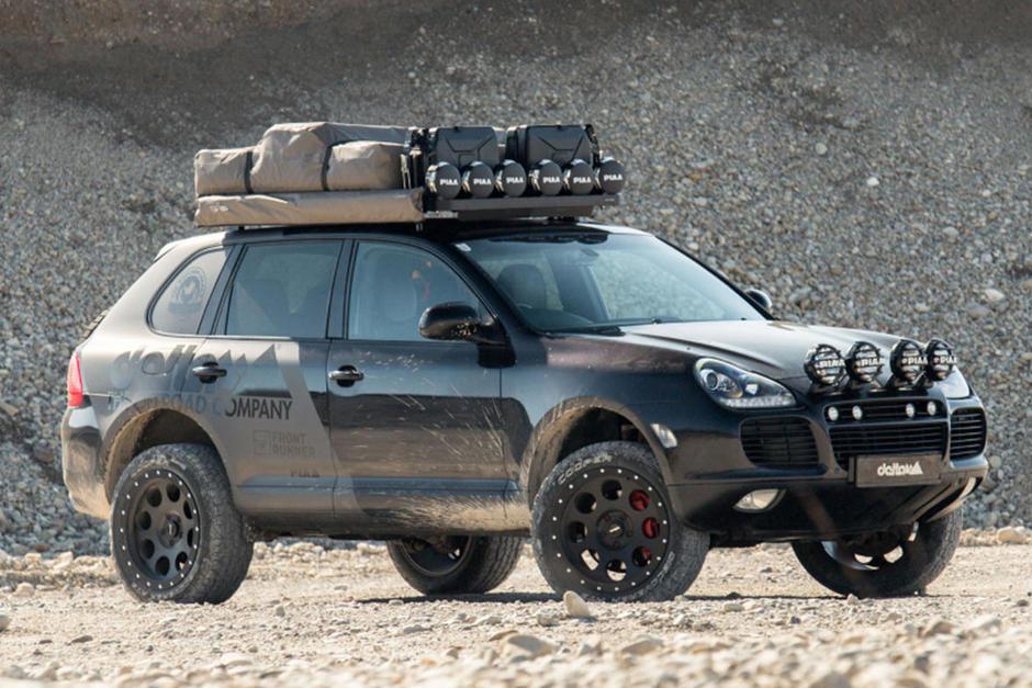 豪華休旅也能超硬派 Porsche Cayenne變身越野車