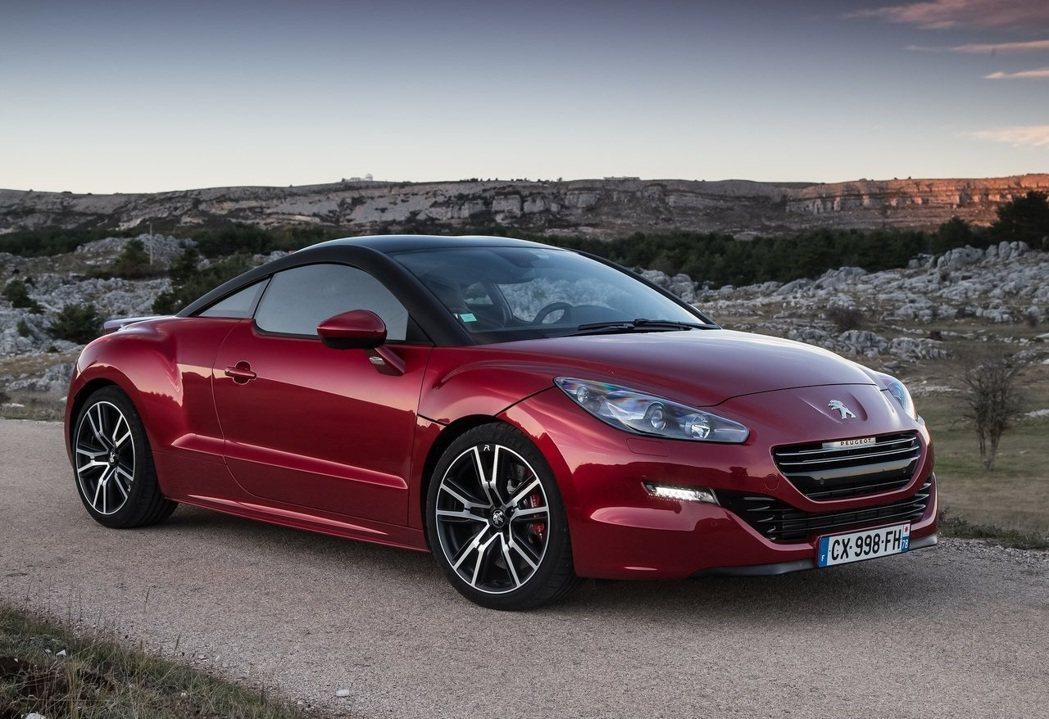 Peugeot RCZ R。 摘自Peugeot