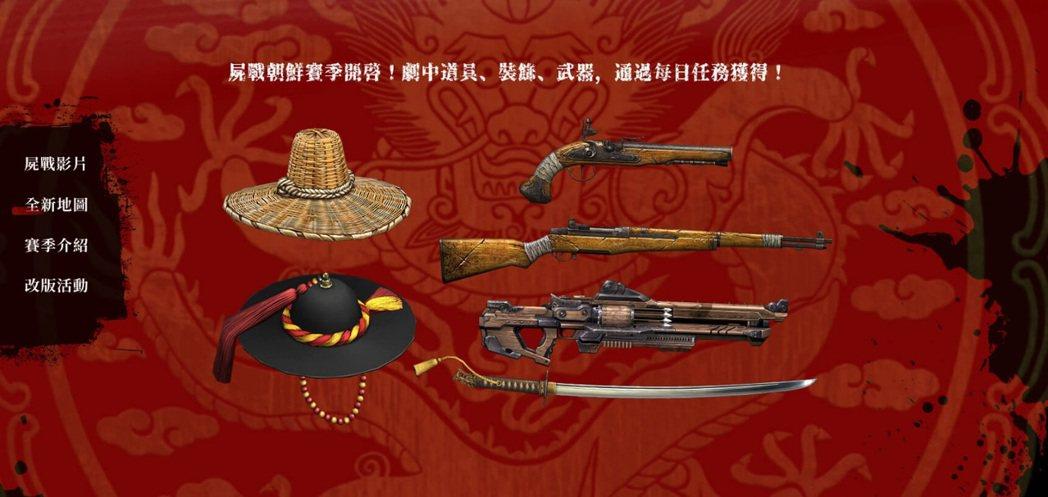 《CSO絕對武力》屍戰朝鮮道具、裝飾、武器