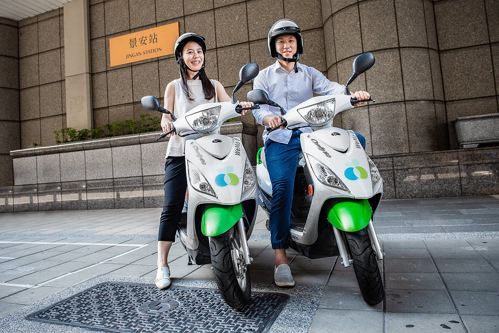 WeMo Scooter公布今年第一季每日平均騎乘數較去年第四季成長超過7成,三...