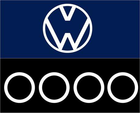 影/這不是網路迷因!疫情肆虐VW和Audi用自家廠徽提醒民眾要保持距離