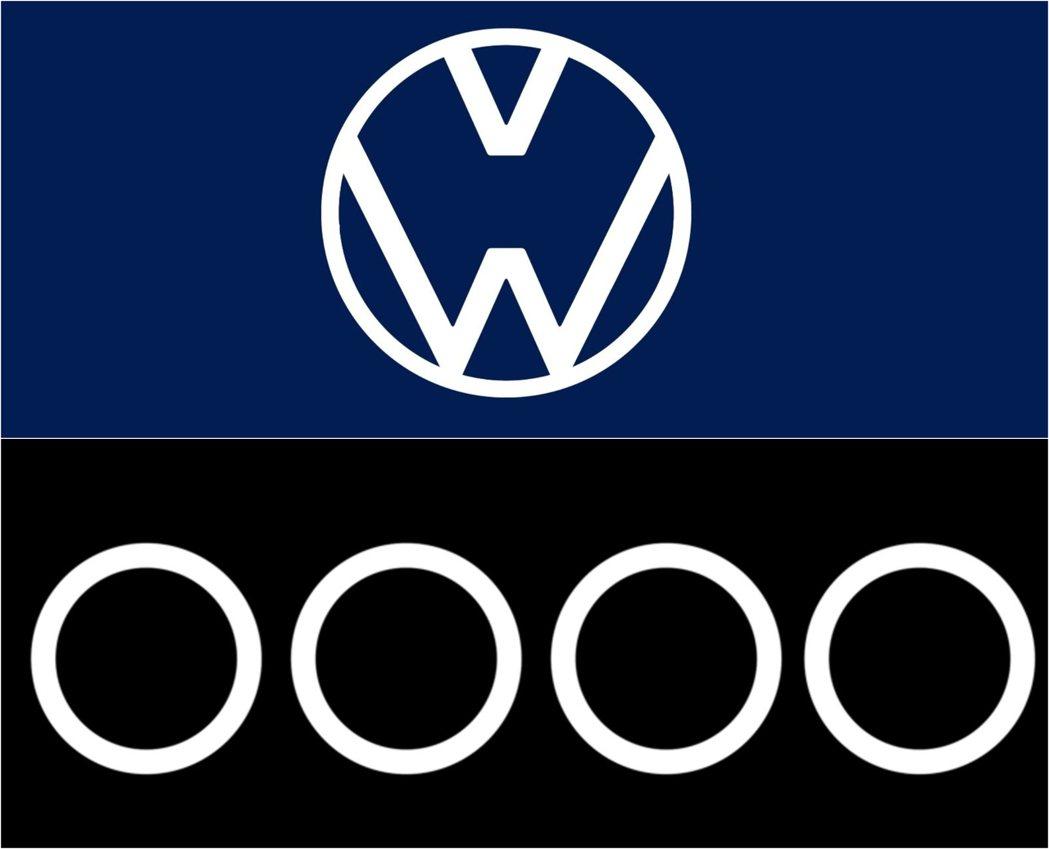 Volkswagen、Audi呼籲大家要保持距離。 摘自Volkswagen、A...