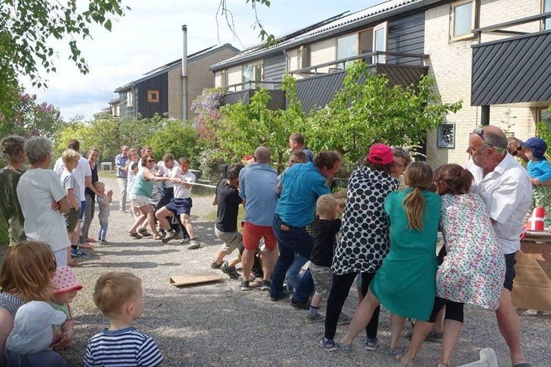 圖為丹麥楚德之林(Trudeslund)舉辦活動的日常。 圖/取自Trudeslund