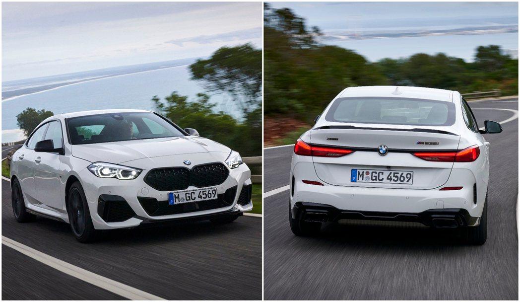 全新BMW M235i xDrive Gran Coupe最大馬力可達306hp...