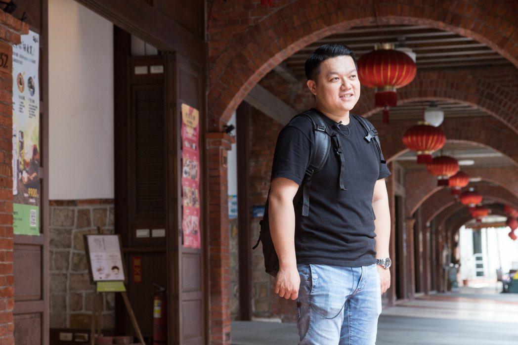 除了做菜,何順凱還希望能用自己的力量為台灣做點什麼。 記者陳立凱/攝影