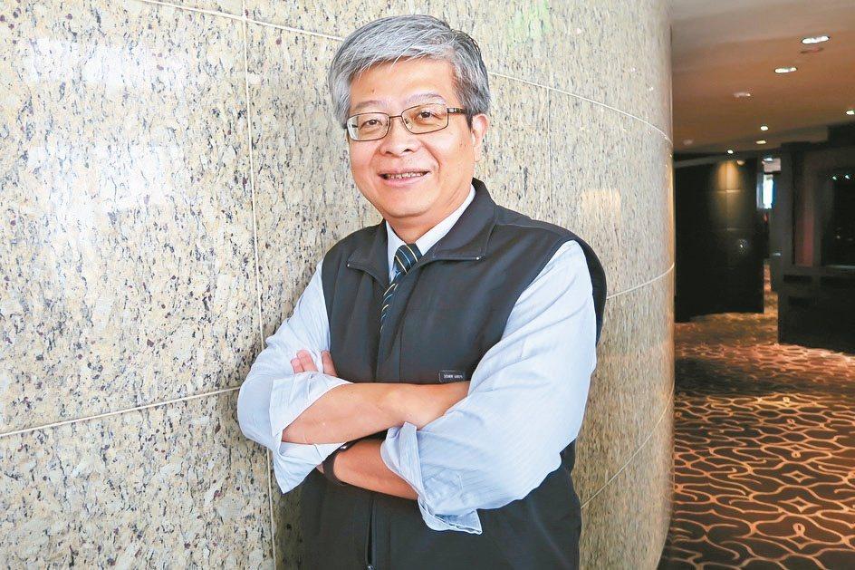 資策會產業情報研究所長詹文男。 彭子豪/攝影