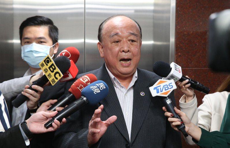 國民黨不分區立委吳斯懷才。 記者林俊良/攝影