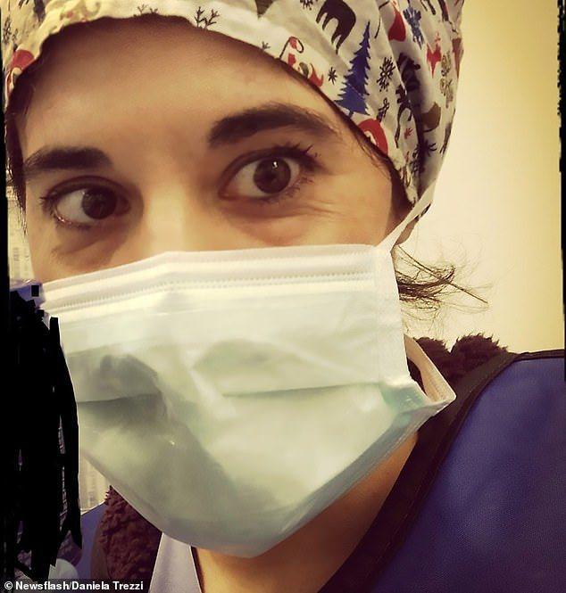 義大利加護病房護士丹妮拉·特雷齊(Daniela Trezzi),疑似在確診後因...