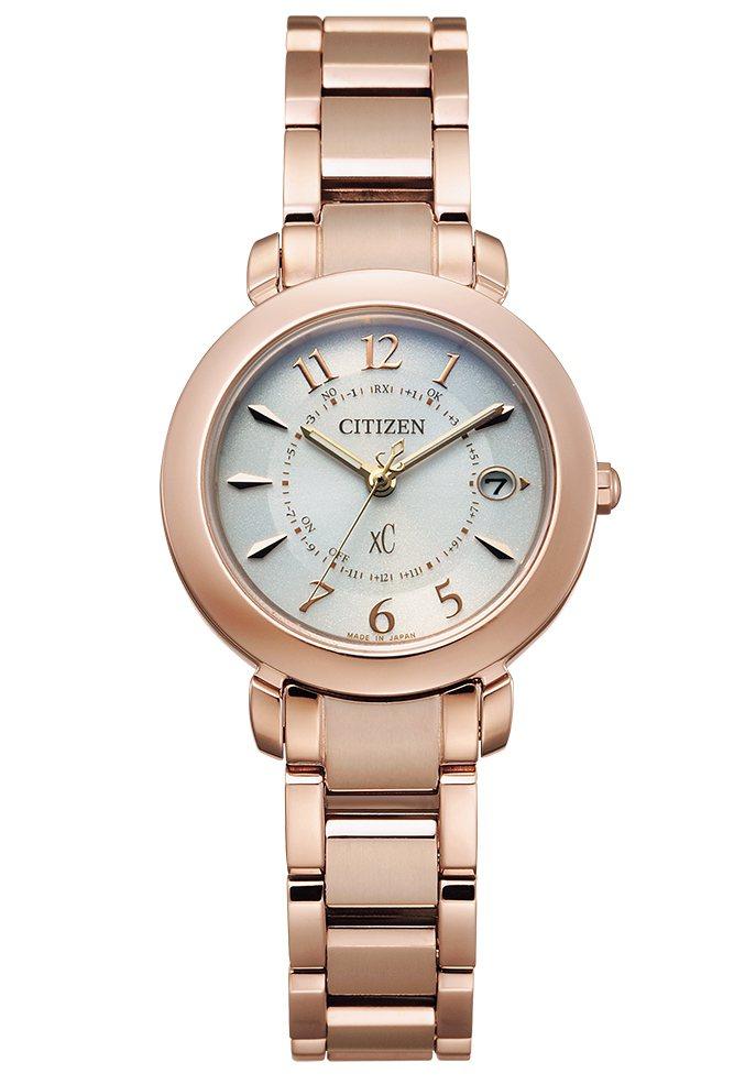 星辰表ES9444-50B腕表,鈦金屬表殼、表鍊鍍Sakura pink櫻花粉紅...