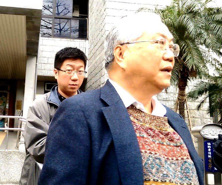 賴文正(右)、賴建志父子。圖/本報資料照片