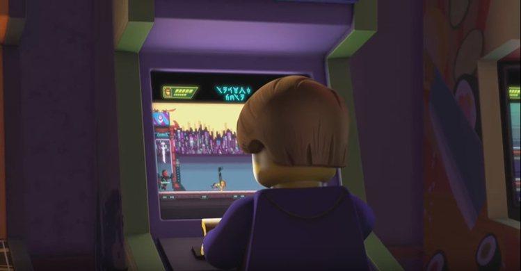 樂高旋風忍者系列全新動畫掀起懷舊遊戲機台風潮。圖/樂高提供